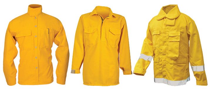 Fire Coats, Shirts
