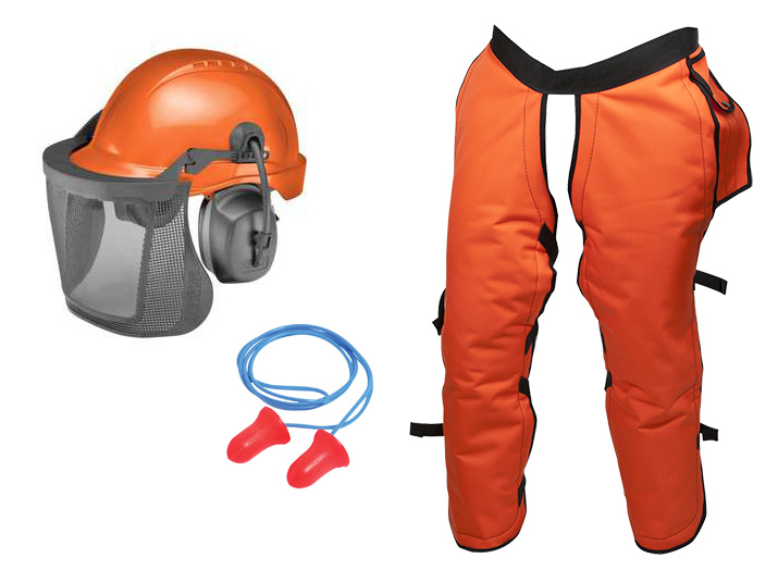 Chainsaw Ppe Safety Personal Protection Equipment For