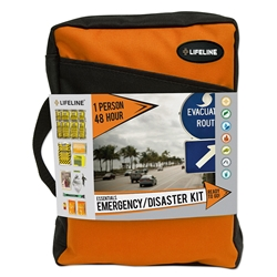 1 Person 48 Hour Essentials Emergency/Disaster Kit  first aid kits, swift first aid, first aid kit, swift