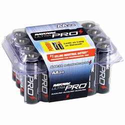Rayovac Ultra Pro AA Batteries - 24 pack