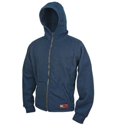 DragonWear Omega Hoodie Medium Navy DragonWear
