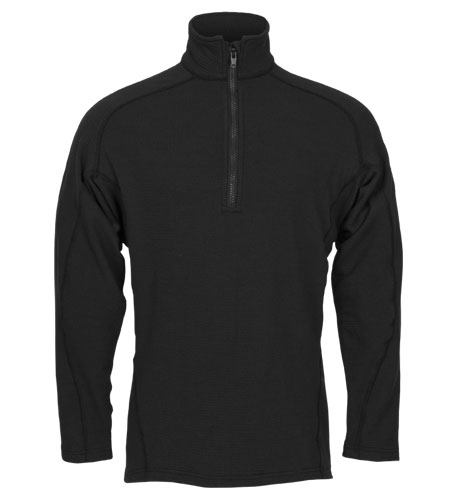 DragonWear Power Grid 1/4 Zip Dual Hazard Shirt - True North - TNG DFB2