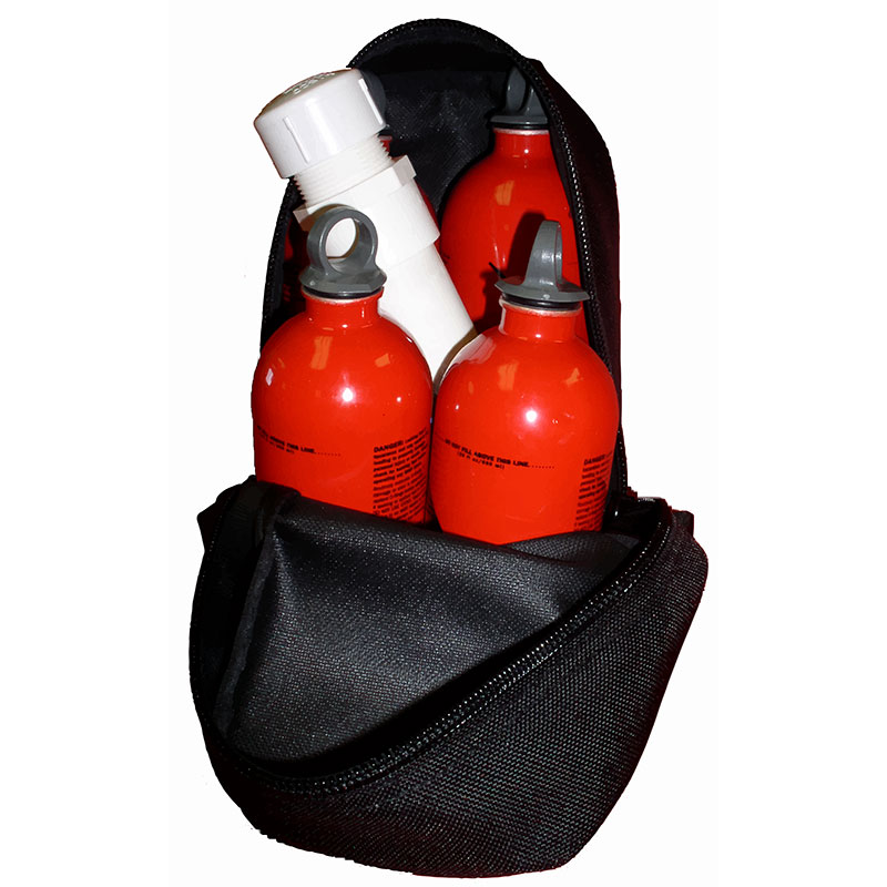 4 Pack Fuel Bottle Drip Torch Bag