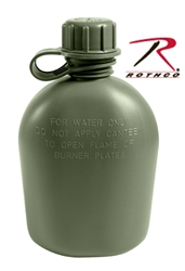 Rothco Genuine G.I. 3 Piece 1 Quart Plastic Canteen canteen, firefighter gear