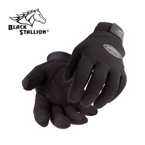 Tool Handz Plus Work Gloves black stallion, bsx, revco