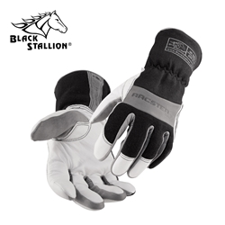 Arcster Premium FR Snug Fit Kidskin Arc Rated Gloves black stallion, bsx, revco