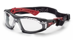 Bolle Rush+ Safety Glasses with Foam and Strap Kit