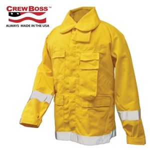 CrewBoss Brush Coat - Nomex 7.5 oz - WSS NJ75