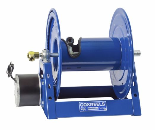 Coxwell Live Electric Hose Rewind Reel 100u0027  sc 1 st  National Fire Fighter Corp. : live hose reel - www.happyfamilyinstitute.com