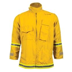 CrewBoss CAL FIRE Jacket CrewBoss brush coat, response jacket, gen 2 jacket, gen ii jacket, brush coat, firefighter brush coat, fire fighter brush coat, firefighter protective coat