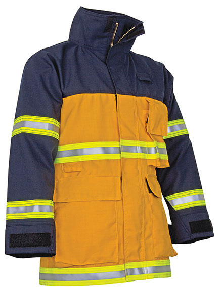 CrewBoss Fire Rescue Coat Nomex/Nomex - WSS FRCNN