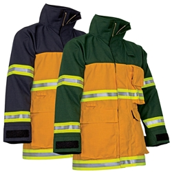 CrewBoss Fire Rescue Coat Tecasafe/Tecasafe