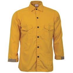 CrewBoss Traditional Brush Shirt - Tecasafe Plus Cotton, Crew Boss, protective clothing, CrewBoss