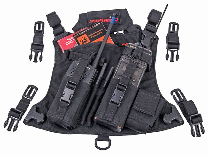 CrewBoss CRUSH Radio Chest Pack - WSS CRUSH