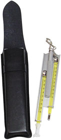Lightweight Aluminum Pocket Sling Psychrometer in F