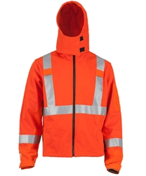 DragonWear DRAGON SHIELD FR Soft Shell Jacket Gen II Orange - True North