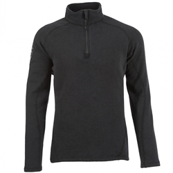 DragonWear Power Grid 1/4 Zip Dual Hazard Shirt - True North DragonWear
