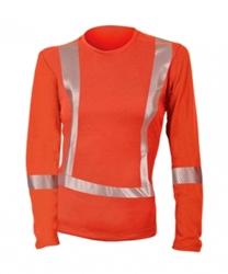 DragonWear PowerDry FR Dual Hazard Hi-Viz Shirt - Womens DragonWear