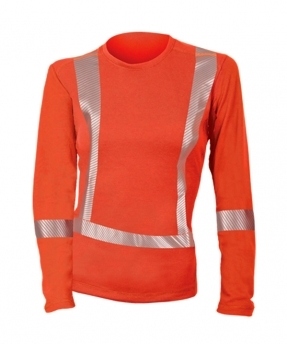 DragonWear PowerDry FR Dual Hazard Hi-Viz Shirt - Women's