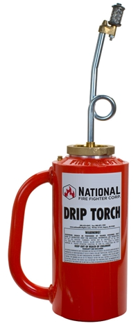 Drip Torch from National Fire Fighter - Red OSHA drip torch
