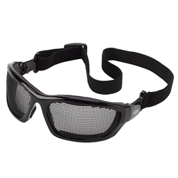Elvex AirSpecs Stainless Steel Mesh Safety Glasses