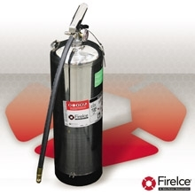 FireIce Fire Extinguisher, 2.5 Gal Water - FIC 25EXT