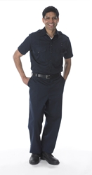 Lakeland Industries Navy Station Shirt - Cotton *Discontinued*