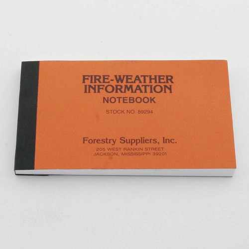 Fire Weather Kit Notebook