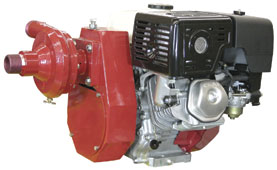 Forester 14270 13HP Fire Pump w/ Robwen 125 Pump End