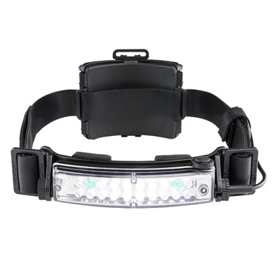 Foxfury Command+ Tilt White & Green LED Headlamp / Helmet Light