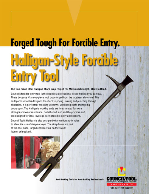 Council Halligan Style Tool - CNT HAL1P