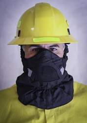 Hot Shield Face Protector w/ Particle Mask hot shield, face mask, face fire protection, shroud