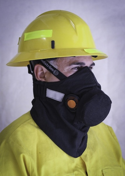 Hot Shield HS-4 FR Housing for Sundstrom Respirator SR-100 - HOT HS-4