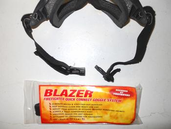 Hot Shield Quick Connect Goggle Strap hot shield, face mask, face fire protection