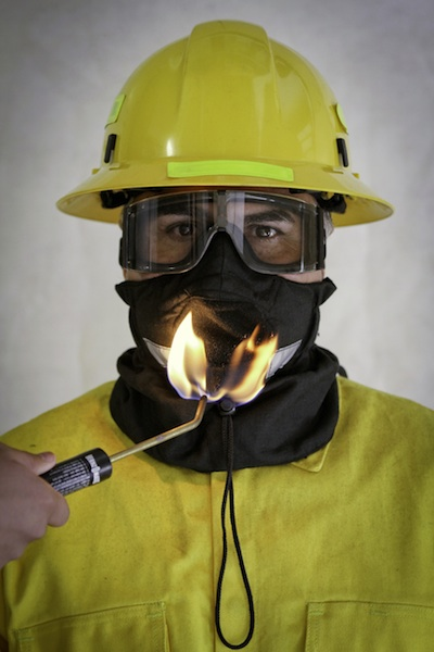 Safety Face Shield >> Hot Shield UB-V2 Wildland Firefighter Ultimate Bandana