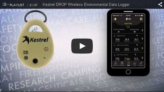 Kestrel DROP D1 Wireless Temperature Data Logger Temperature - KES DROP1