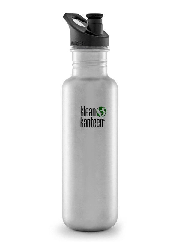 Klean Kanteen Classic Stainless Steel Water Bottles - Case of 6