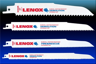 LENOX Extrication/Demolition Reciprocating Saw Blades