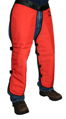 "Weckworth UL Classified NFPA USFS Chain Saw Chaps 40"" - WEK USFS40-O"