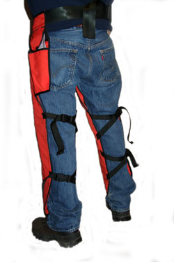 Weckworth UL Classified NFPA USFS Chain Saw Chaps - WEK USFS