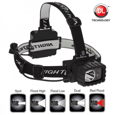 Nightstick Dual Light Multi-Function Headlamp