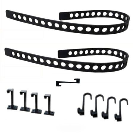 QUICK FIST Rubber Tie Down Belt Kit