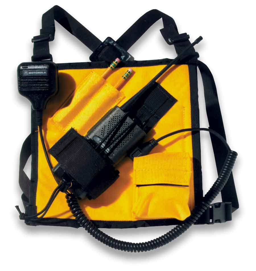 Radio Chest Harness radio harness, chest harness, firefighter gear