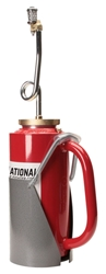 Red OSHA Drip Torch with Mounting Bracket drip torch, mounting bracket