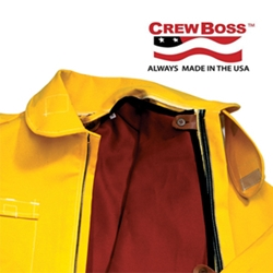 CrewBoss Tecasafe Plus Brush Coat Liner