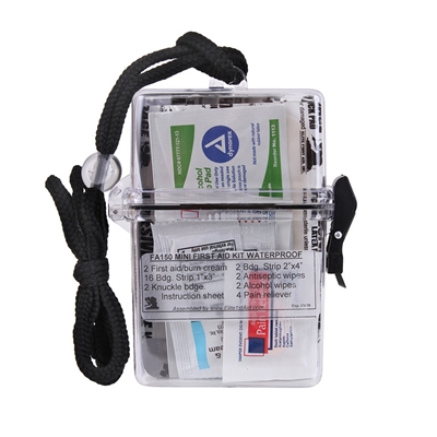 Rothco Compact Waterproof First Aid Kit