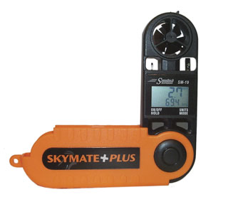 SpeedTech Skymate Plus Windmeter Weather Instruments, Kestrel, SpeedTech, wind meter
