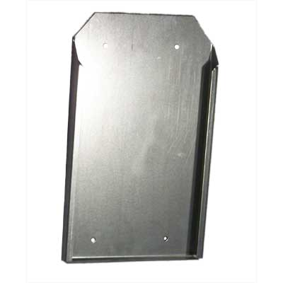 "Vertical Storage Bracket for 12"" Long Wheel Chock storage bracket, wheel chock, wheel chock storage"