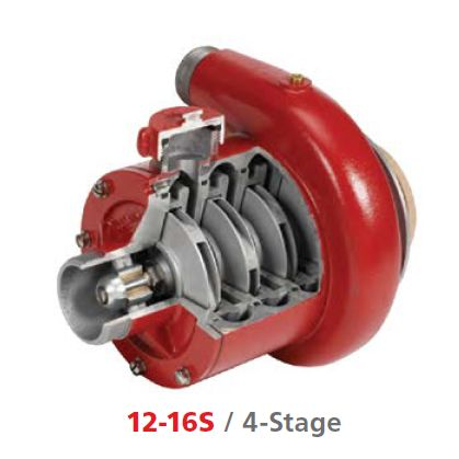 Waterax High Pressure 4-Stage Pump End