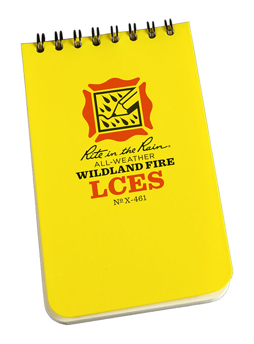 Rite in the Rain LCES Wildland Fire X-461